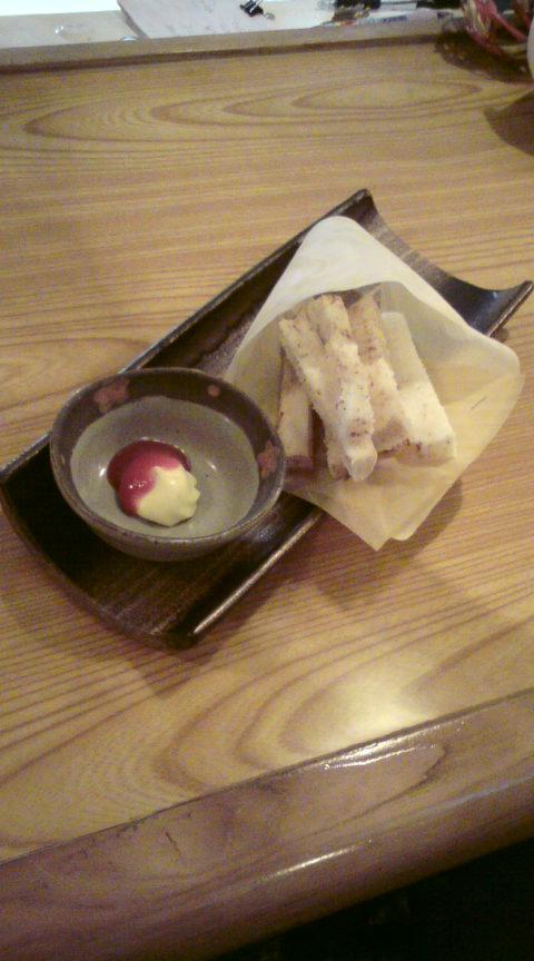 山芋のフライドポテト